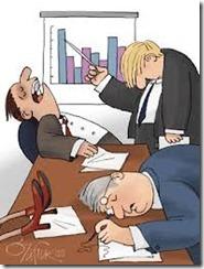 sleeping at meeting